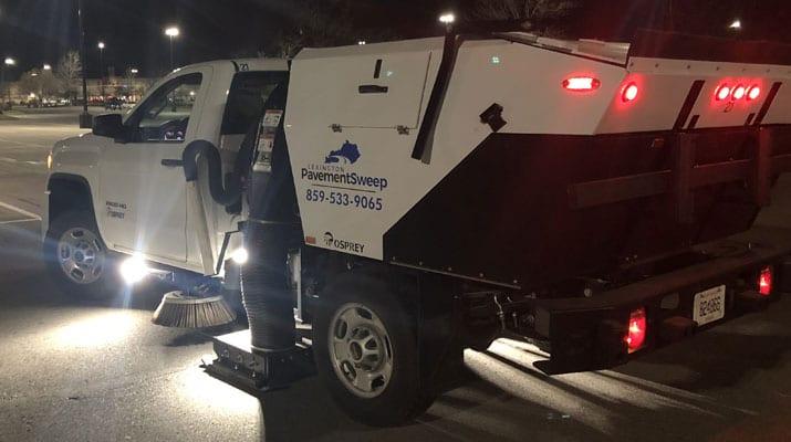 Lexington Kentucky's Official Parking Lot Sweeping Services