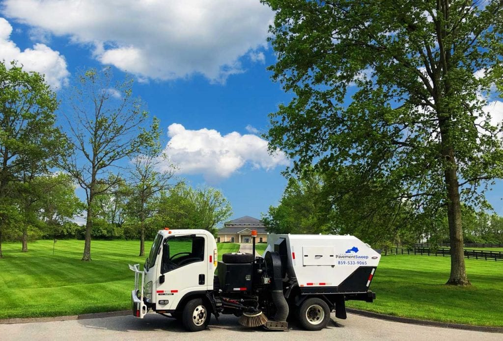 Lexington Kentucky Street Sweeper and Parking Lot Sweeping